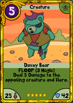 Davey Bear Gold