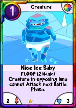 Nice Ice Baby