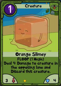 Orange Slimey