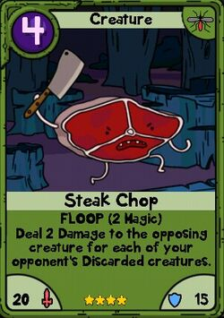 Steak Chop