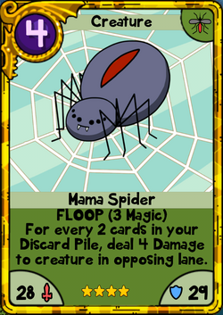 Mama Spider Gold