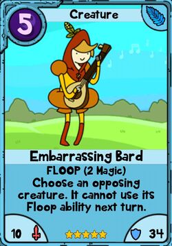 Embarrassing Bard