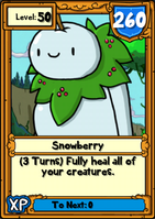 Snowberry Hero Card
