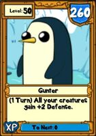 Super Gunter Hero Card