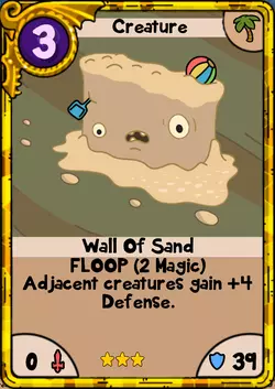 Wall of Sand Gold