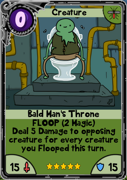 Bald Man's Throne