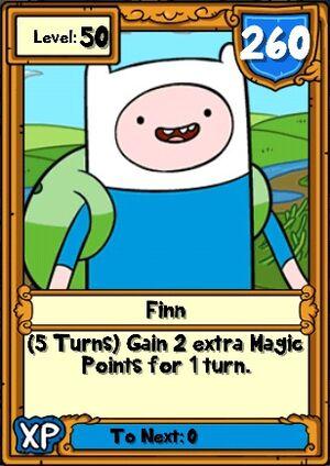 Finn Hero Card