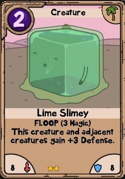 Lime slimey