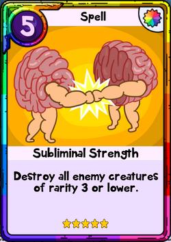 Subliminal Strength