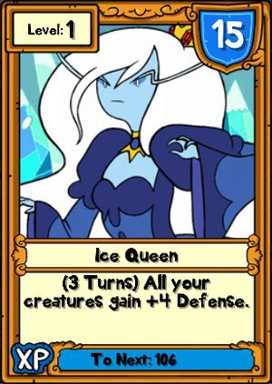 Ice Queen Hero Card