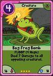 Bog Frog Bomb