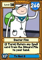 Super Doctor Finn Hero Card