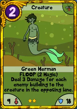 Green Merman Gold