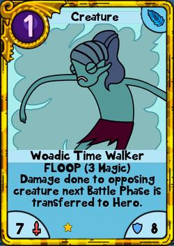 Woadic Time Walker Gold