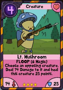Lt Mushroom