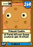 Super Princess Cookie Hero Card