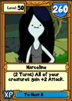 Super Marceline Hero Card