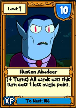 Hunson Abadeer Hero Card