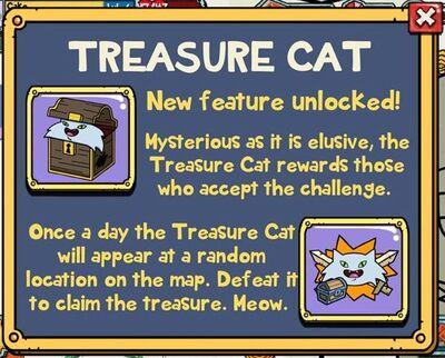 Treasure Cat