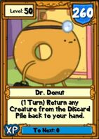 Super Dr. Donut Hero Card