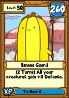 Super Banana Guard Hero Card