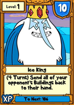 Ice King Hero Card