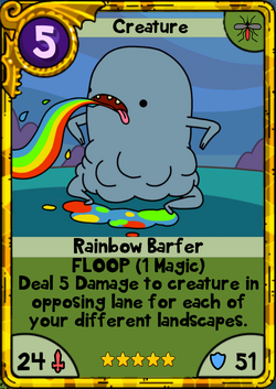Rainbow Barfer Gold
