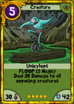 Unicylops Gold