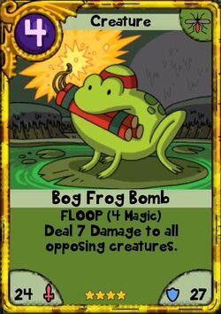 Bog Frog Bomb gold