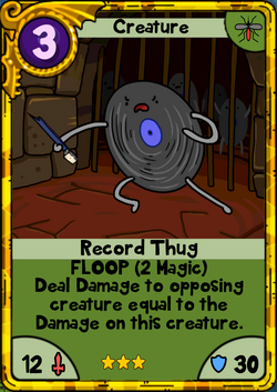 Record Thug Gold