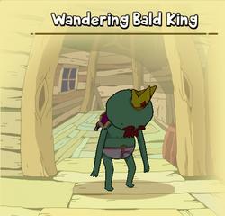 Bald king