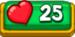 25 Hearts