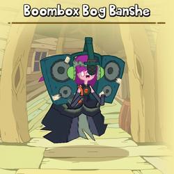 Boombox Bog Banshe