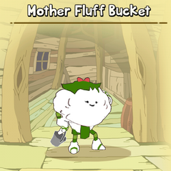 Mother Fluff Bucket