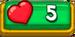 5 Hearts-0