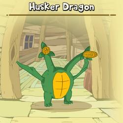 Husker Dragon Creature
