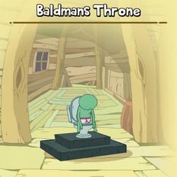 Baldmans Throne Creature