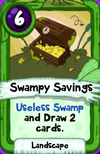 Swampy Savings