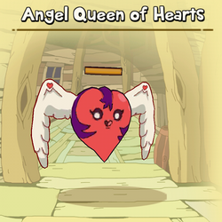 Angel Queen of Hearts