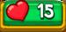 15 Hearts