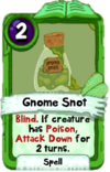 Gnome Snot