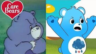 Classic Care Bears The Evolution of Grumpy Bear!