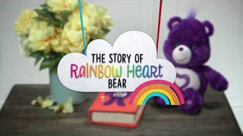 Care Bears The Story of Rainbow Heart Bear