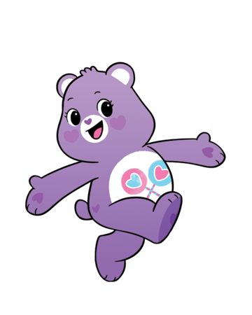 Care Bears Printable Coloring Pages - Coloring Home | 450x360