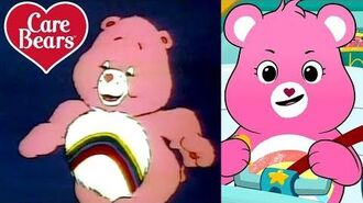 Classic Care Bears The Evolution of Cheer Bear!