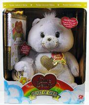 Heart of Gold Bear White