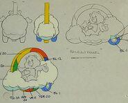 Rainbowrollermodelsheet