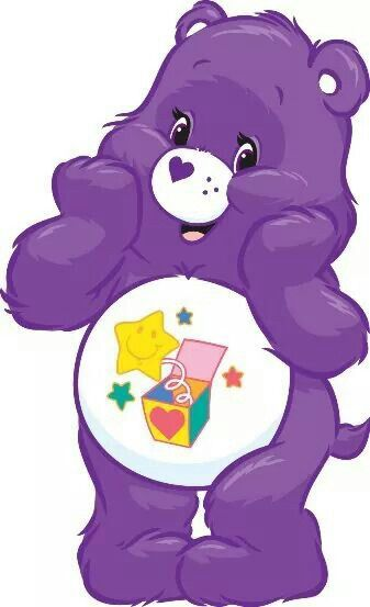 Care bear with flowers name