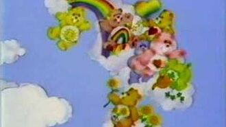 The Care Bear Intro for Golden Book