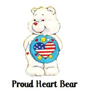 Proud Heart Bear